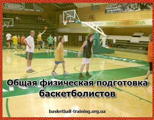 Общая физическая подготовка (ОФП) баскетболистов высокой квалификации