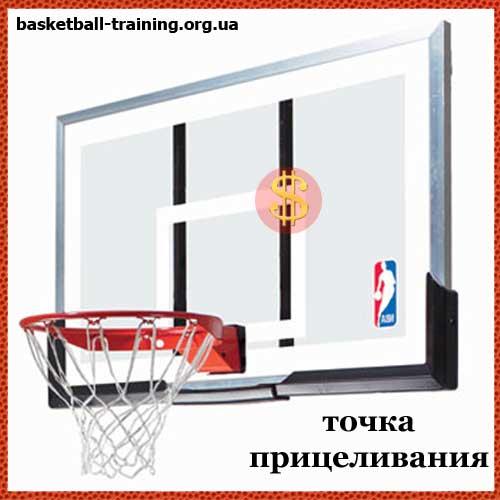 Тренировка броска в баскетболе