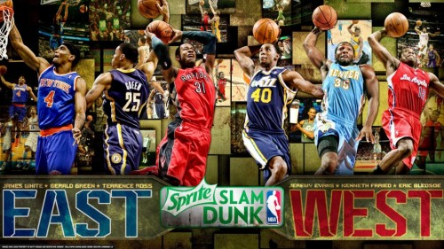 NBA Sprite Slam Dunk Contest 2013 - конкурс Слем Данков в НБА 2013. Видео.
